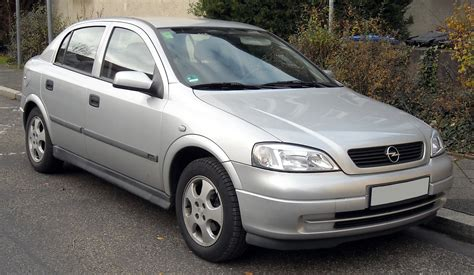 2002 Opel Astra 2002 Opel Astra G Cc Pictures Information And Specs