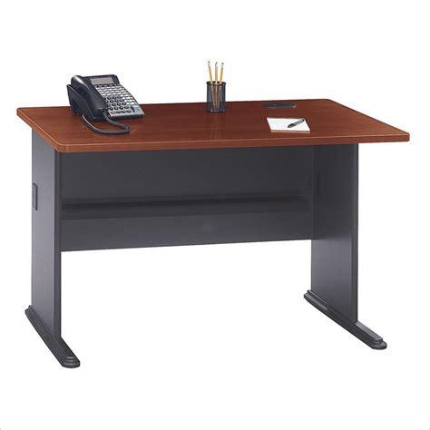 48 inch computer desk bush bbf series a 48w desk in hansen cherry wc90448a