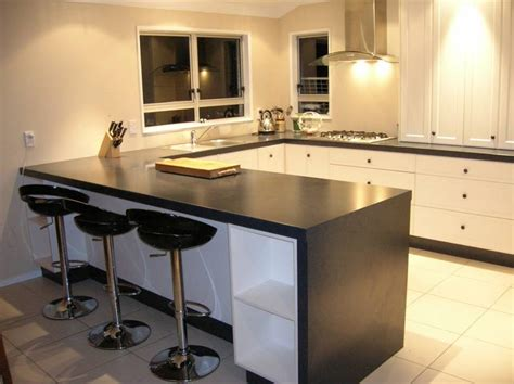 Kitchen Island Bar Laminate Benchtops Photo Galleries Kiwi Kitchens