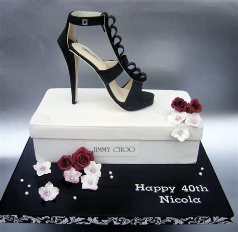 shoe cake jimmy choo shoe with cake shoe box cake by