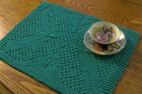 knitted placemats really reversible placemats table runners collection