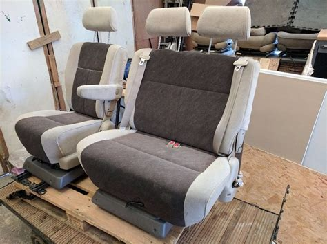 bench seat van swivel double bench captain seat for cer van vw t4 t5