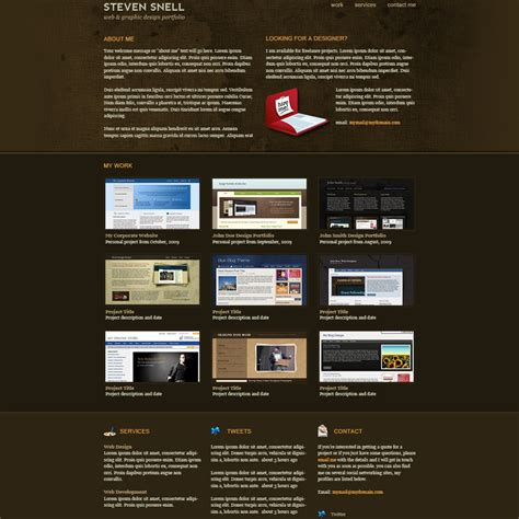 psd templates 20 best free psd website templates for business portfolio