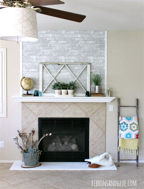 easy fireplace makeover easy fireplace makeover airstone fireplace makeover make
