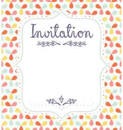 invite template 5 invitation templates word excel pdf templates