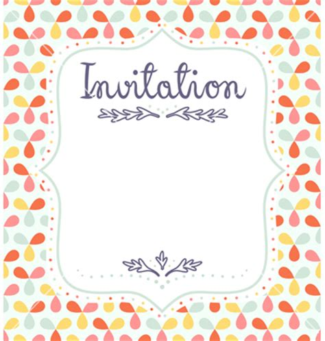 invitation layout templates invitation template