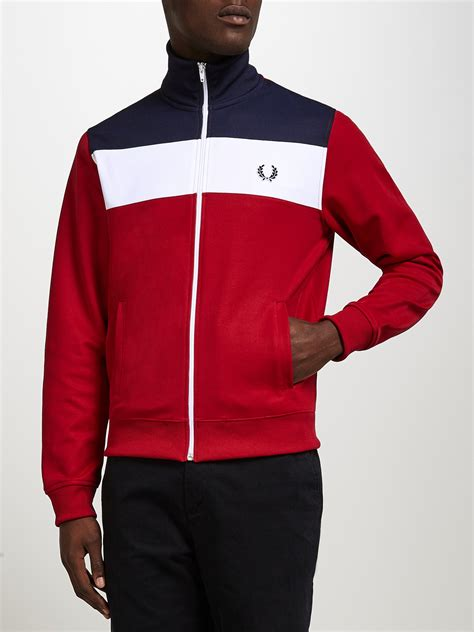 L521 Jaket Hoodie Jumper Yellow Claw Blood Fo Kode Pl521 5 lyst fred perry sports panel track jacket in for