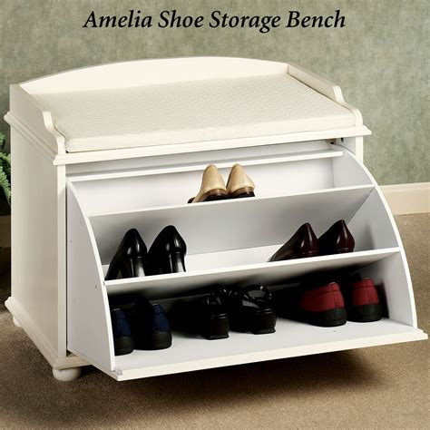 shoes storage bench ayden shoe storage bench