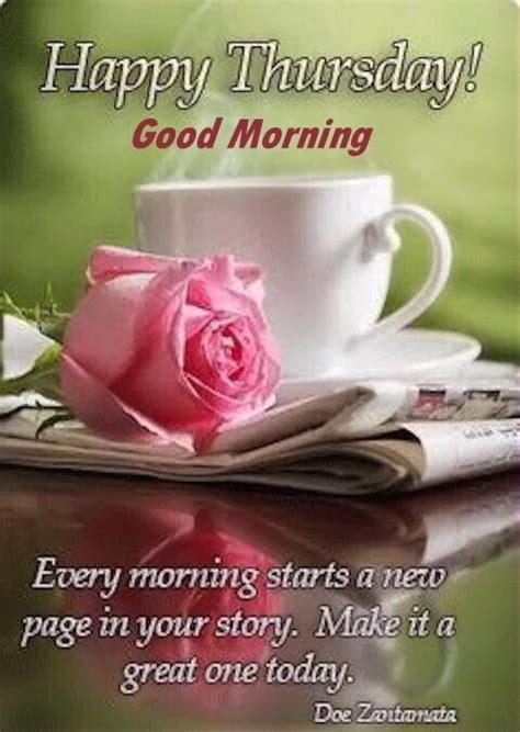 happy thursday good morning   great day