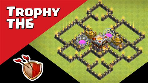 layout coc th6 hybrid clash raider on twitter quot clash of clans town hall 6