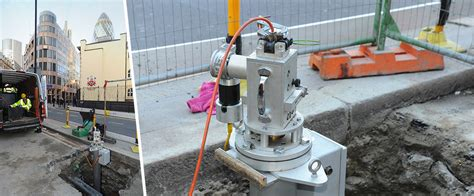 robotic wall system inspection of live cast iron gas mains vgc launches through bond and bolt in london ulc robotics