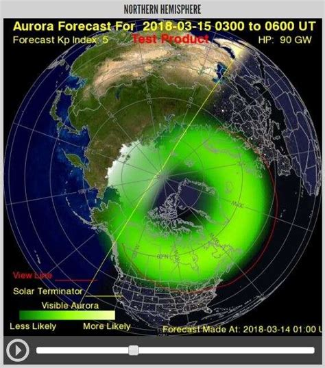 will i be able to see the northern lights tonight you might be able to see the northern lights in the us