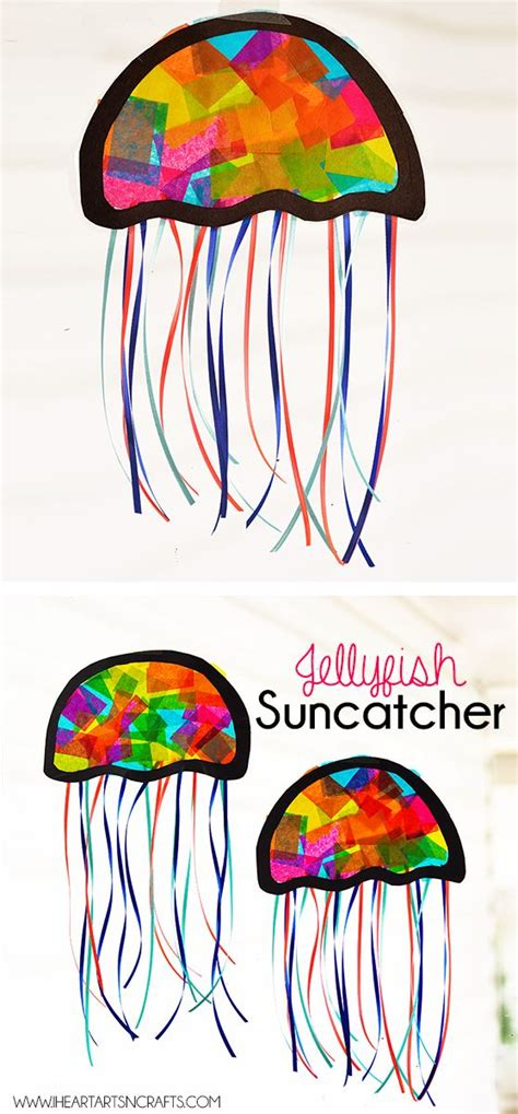 suncatcher craft suncatcher jellyfish craft