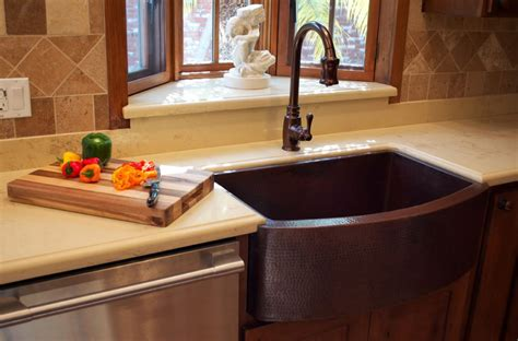 copper kitchen sink faucets when and how to add a copper farmhouse sink to a kitchen
