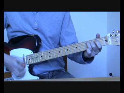 how to play bullet for my on guitar radiohead bullet proof how to play on guitar chords