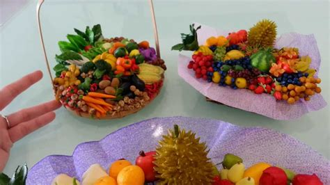 Handmade Fruits - my miniature handmade vegetables fruits