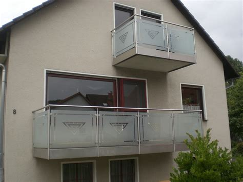 Balkongeländer Edelstahl Glas by Metallbau Rabe Gmbh Schmiedebetrieb In Ringgau R 246 Hrda