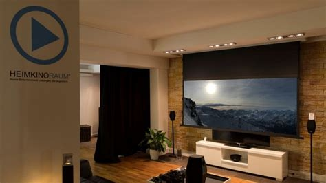 wohnzimmer kino was macht heimkinoraum so besonders