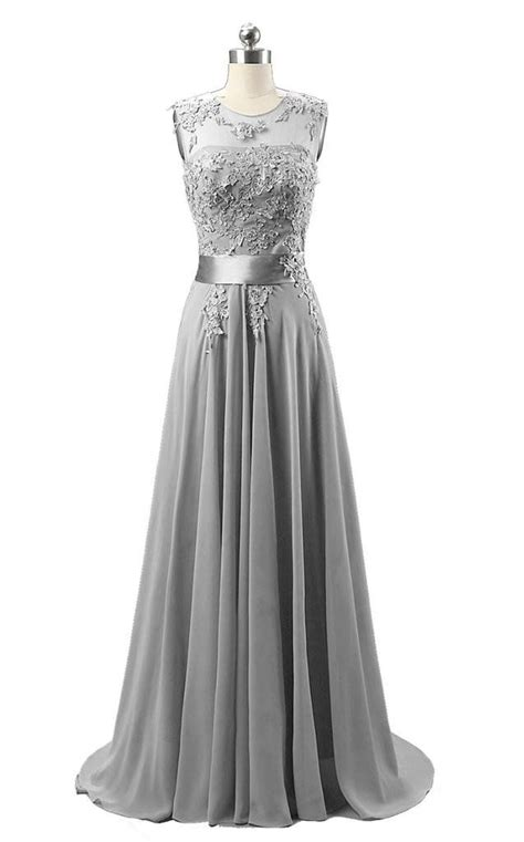Ready Dress Chic Grey by Bridesmaid Dresses Silver Grey Flower Dresses