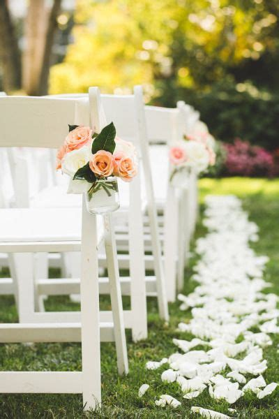 20 must wedding chair decorations for ceremony best 25 aisle markers ideas on wedding aisle decorations pew markers and aisle