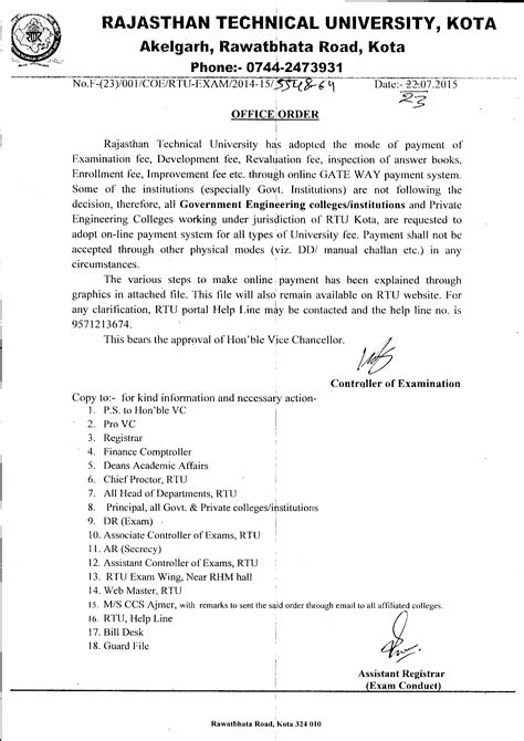 Rtu Mba Fees by Rajasthan Technical Kota Rajasthan