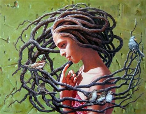 tree hair yggdrasil worldtree