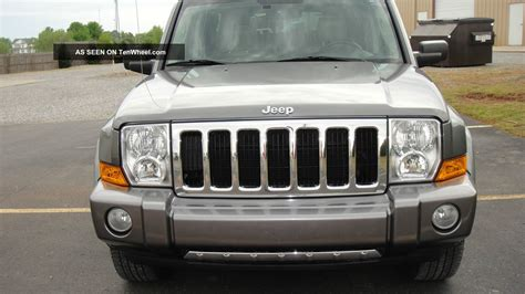 Jeep Commander Tire Size 2007 Jeep Commander 2007