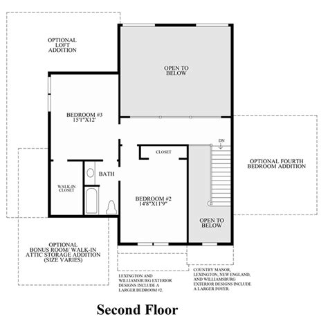 floor plans princeton lenah mill the carolinas luxury new homes in aldie va