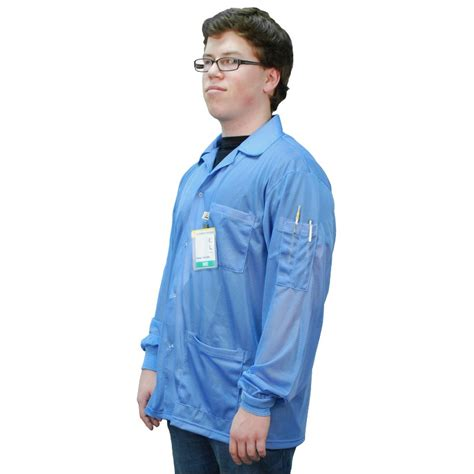 Smock That by Desco 73750 Statshield 174 Smock Jacket With Knitted Cuffs