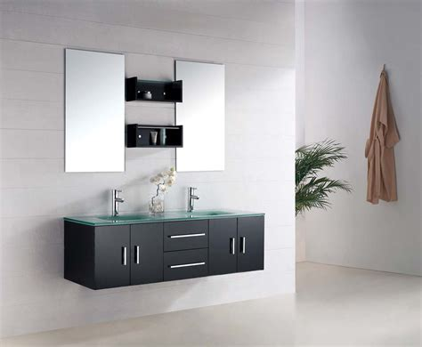 Modern Bathroom Vanity Set Macari Modern Vanities For Bathrooms
