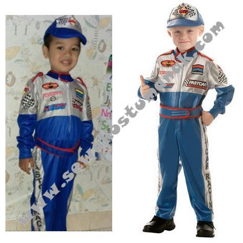 Baju Pembalap Anak kostum profesi pembalap baju profesi anak sewa kostum