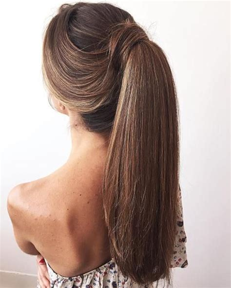 30 eye catching ways to style curly and wavy ponytails 40 best flip ins hair extension images on pinterest