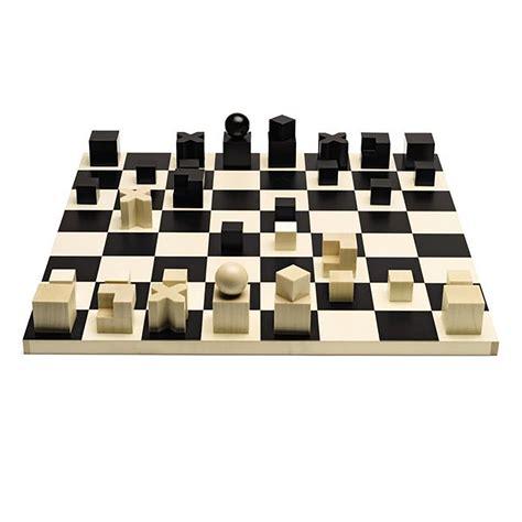 Set For bauhaus chess set shop cooper hewitt