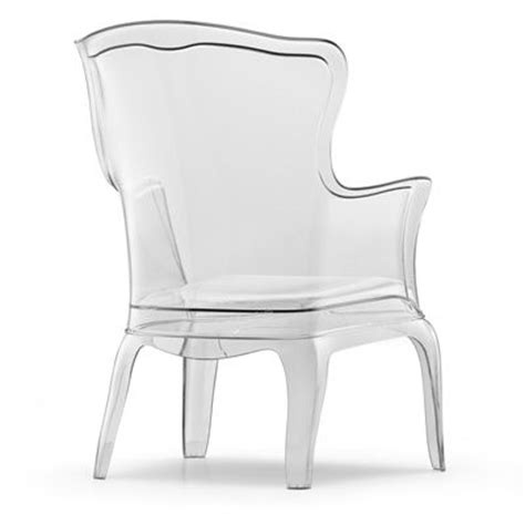 lucite wingback chair unbelieveable miami