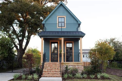 fixer upper house fixer upper takes on a vintage tiny house hgtv s fixer