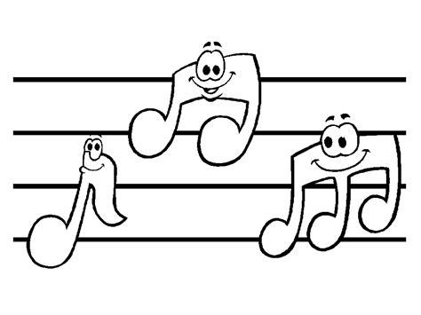 bordes para notitas colouring pages imagens de notas de musicas az dibujos para colorear