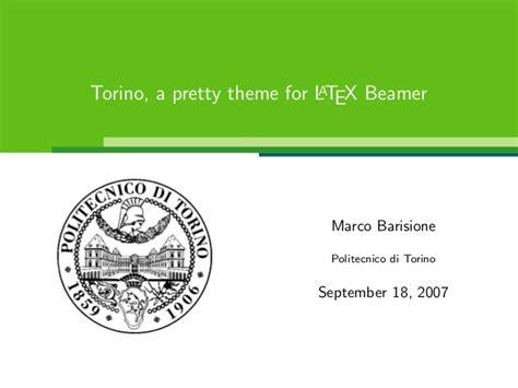 beamer theme gc3 torino beamer