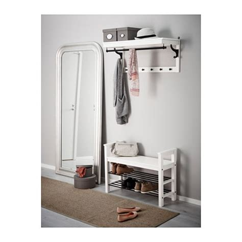 Hemnes Bench With Shoe Storage White 85x32 Cm Ikea | hemnes bench with shoe storage white 85x32 cm ikea