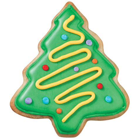 christmas tree cookies wilton