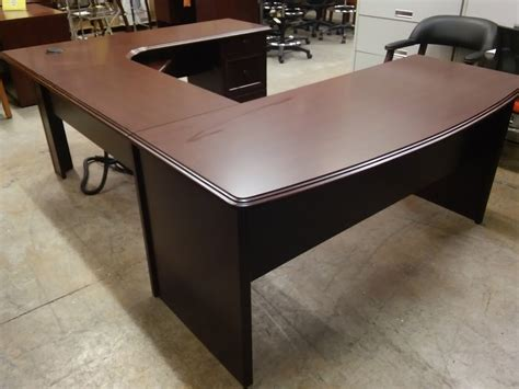 broadstreet u shaped desk cherry u shaped executive workstation desk broadstreet by