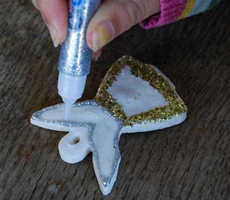 diy ornaments cornstarch 17 best images about clay crafts ornaments on