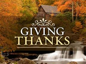 giving thanks at thanksgiving a day in god s will
