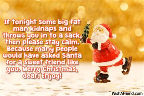 tonight  big fat man merry christmas message