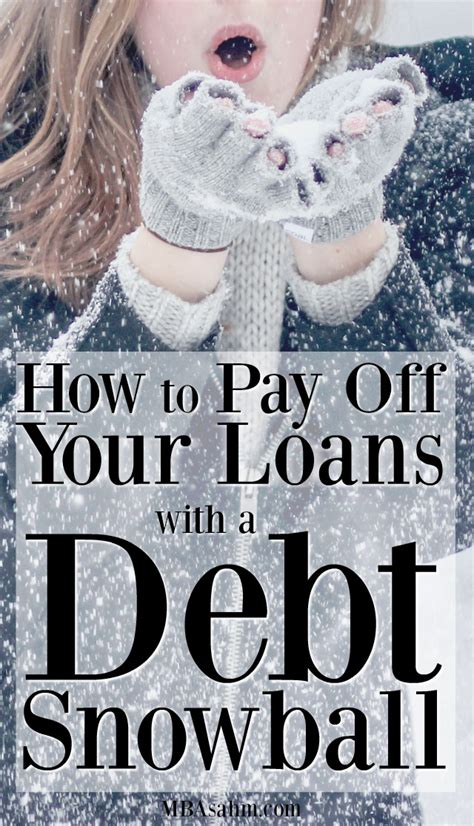 Paying Mba Debt by How To Use The Debt Snowball Method To Pay Your Loans