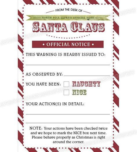 printable naughty letter from elf on the shelf naughty or nice checklist christmas pinterest elves