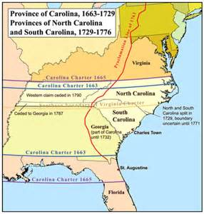 map of the carolinas and map of province of south carolina the wiki