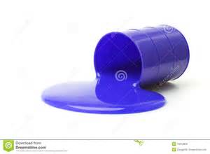 blue color slime stock images image 15612834