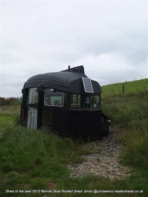 Shed Of The Year 2013 by The Winner Of Shed Of The Year 2013 Is The Boat Roofed