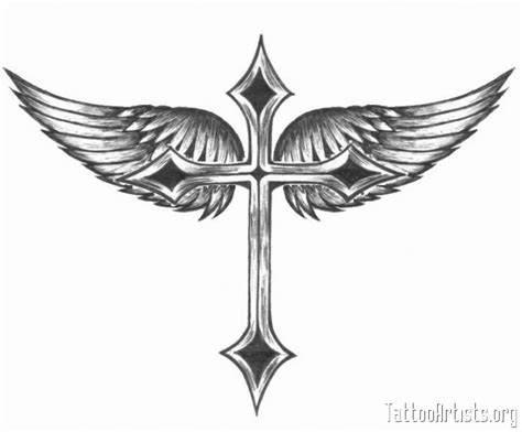 valkyrie wing tattoos looks more like a cross and wings