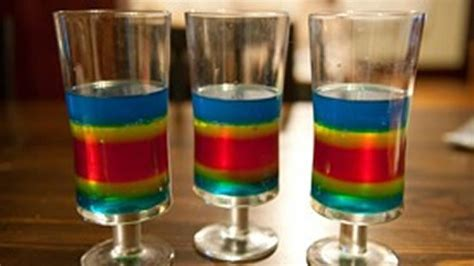 layered rainbow shots rainbow cocktails rainbow shots drink recipes howl